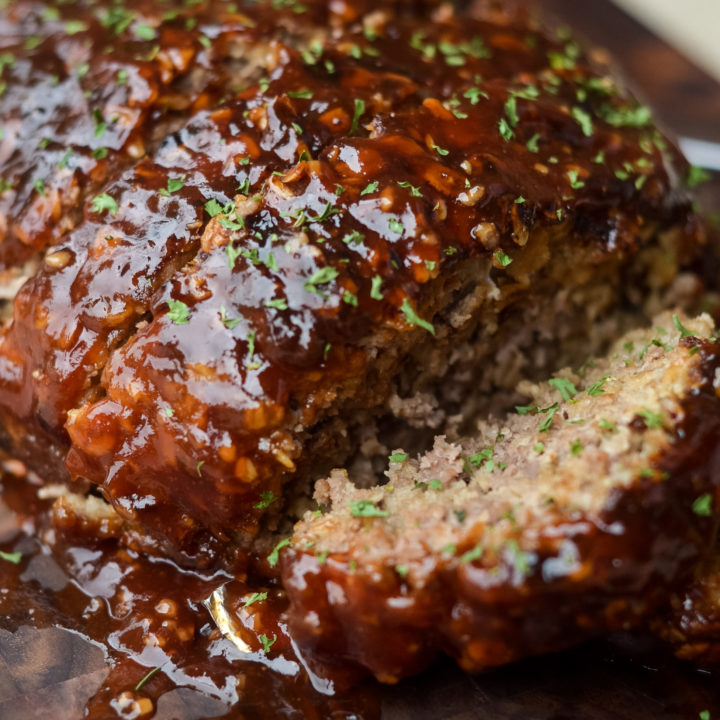 Air Fryer Meatloaf (Gluten-Free)