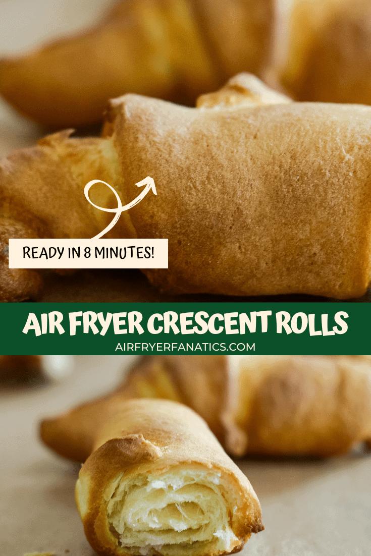 Easy Air Fryer Crescent Rolls