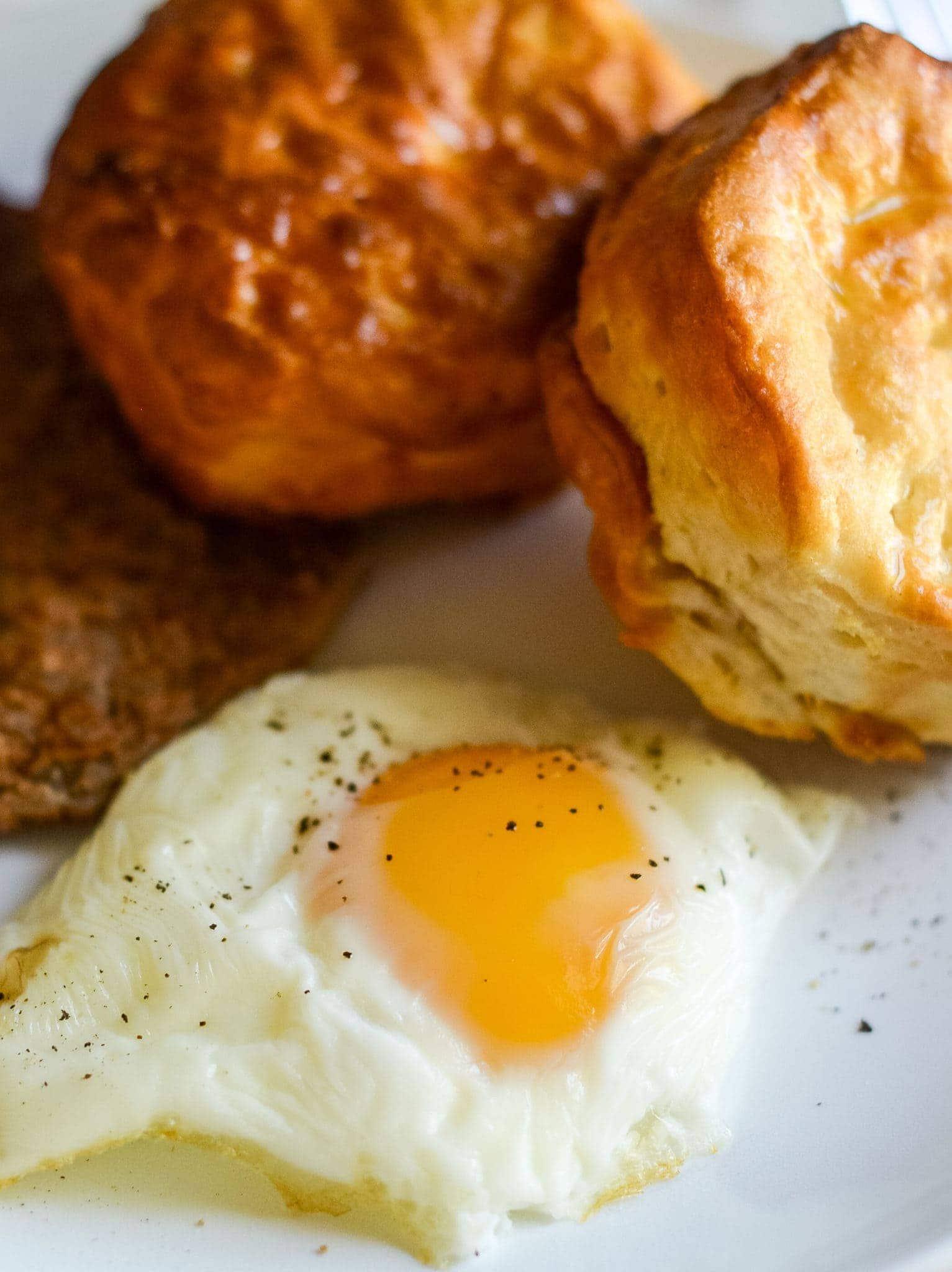 Air Fried Eggs