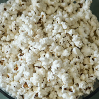 The BEST Air Fryer Popcorn