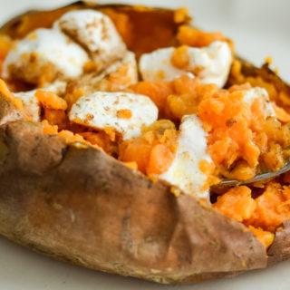 Air Fryer Sweet Potatoes (Sweet or Savory)