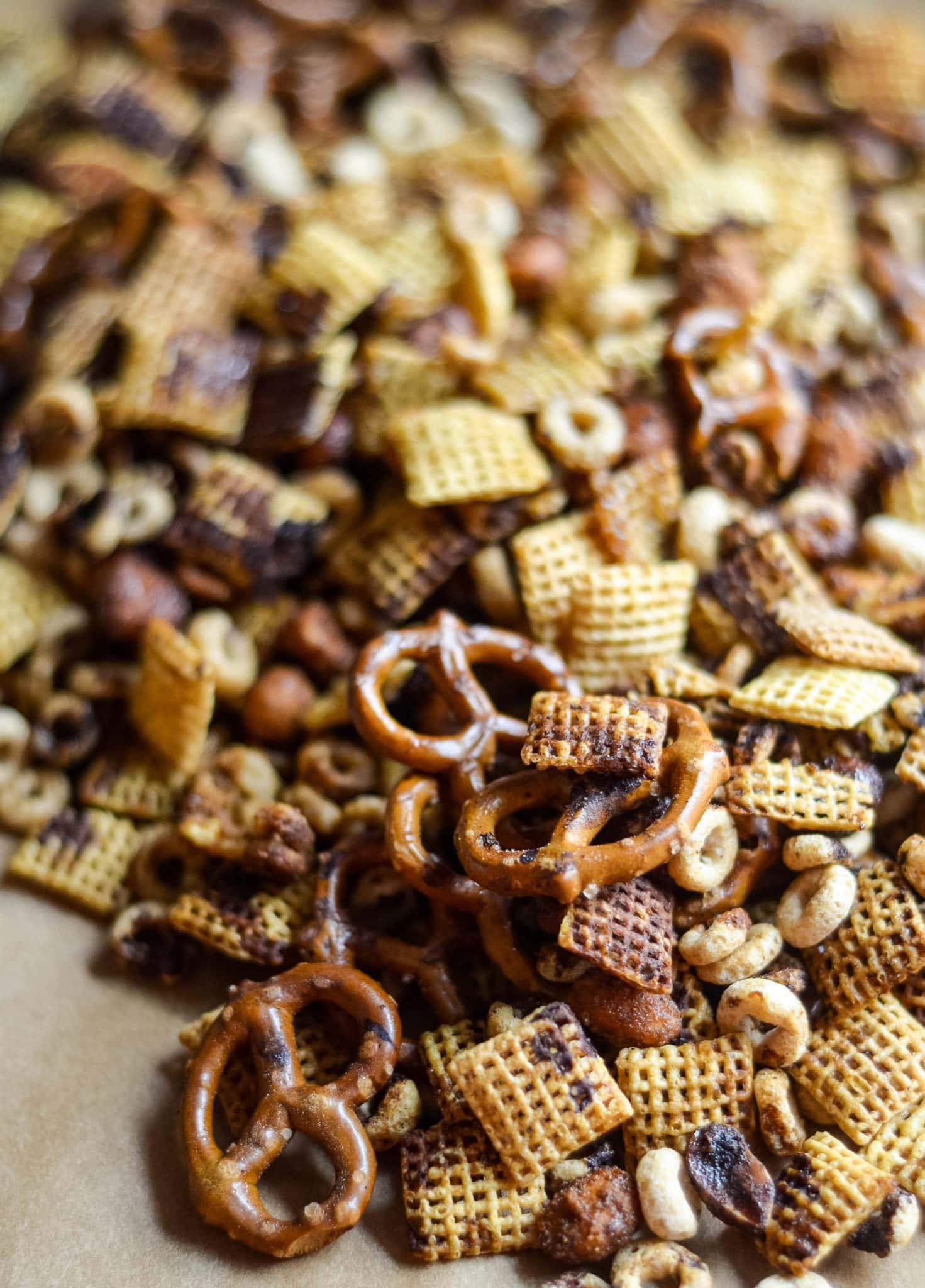 Air Fryer Chex Mix (Gluten-Free)