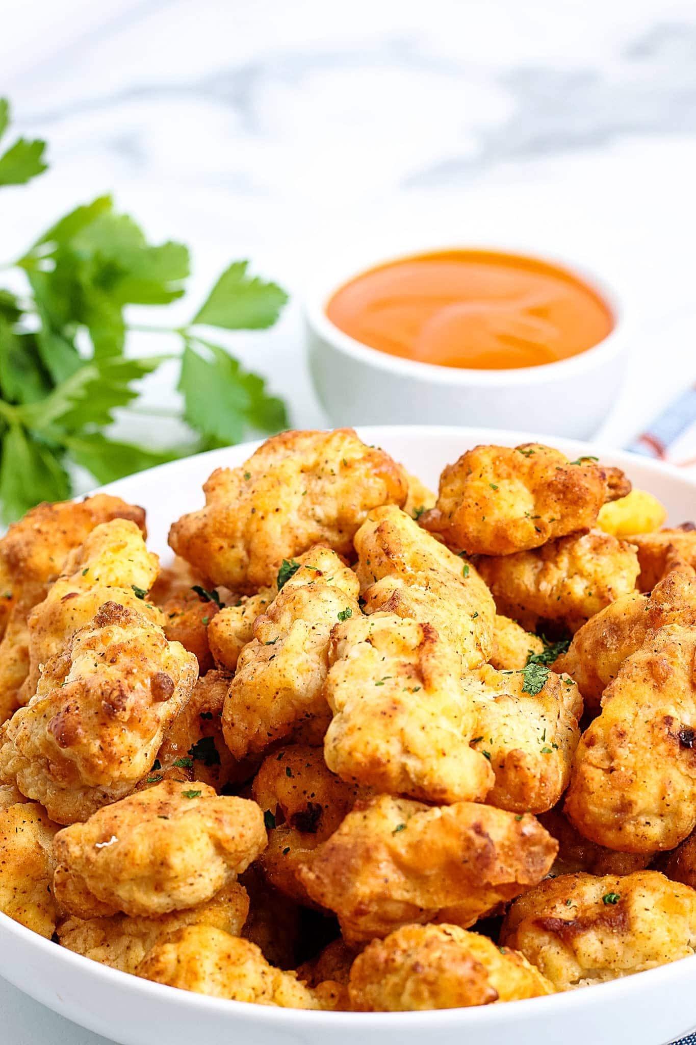 Air Fryer Popcorn Chicken (Gluten-Free)
