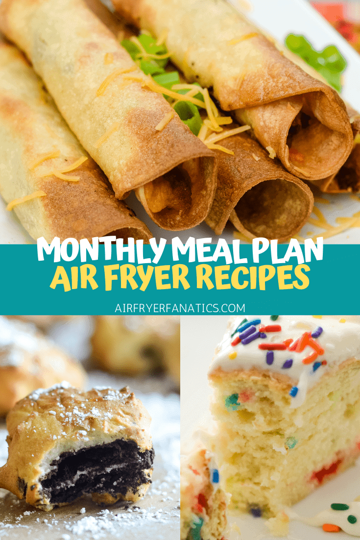 Air Fryer Meal Plan for February