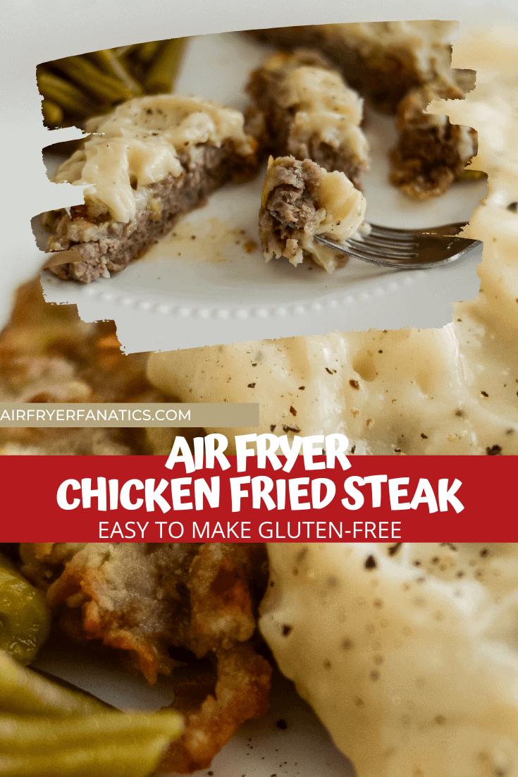 air fryer chicken fried steak gluten-free