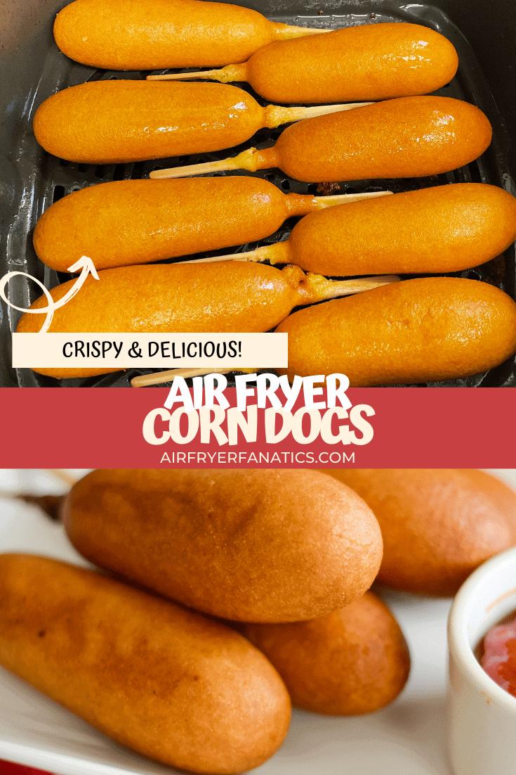 Air Fryer Corn Dogs (From Frozen)