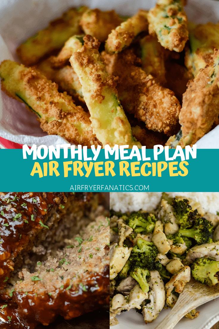 air fryer meal plan