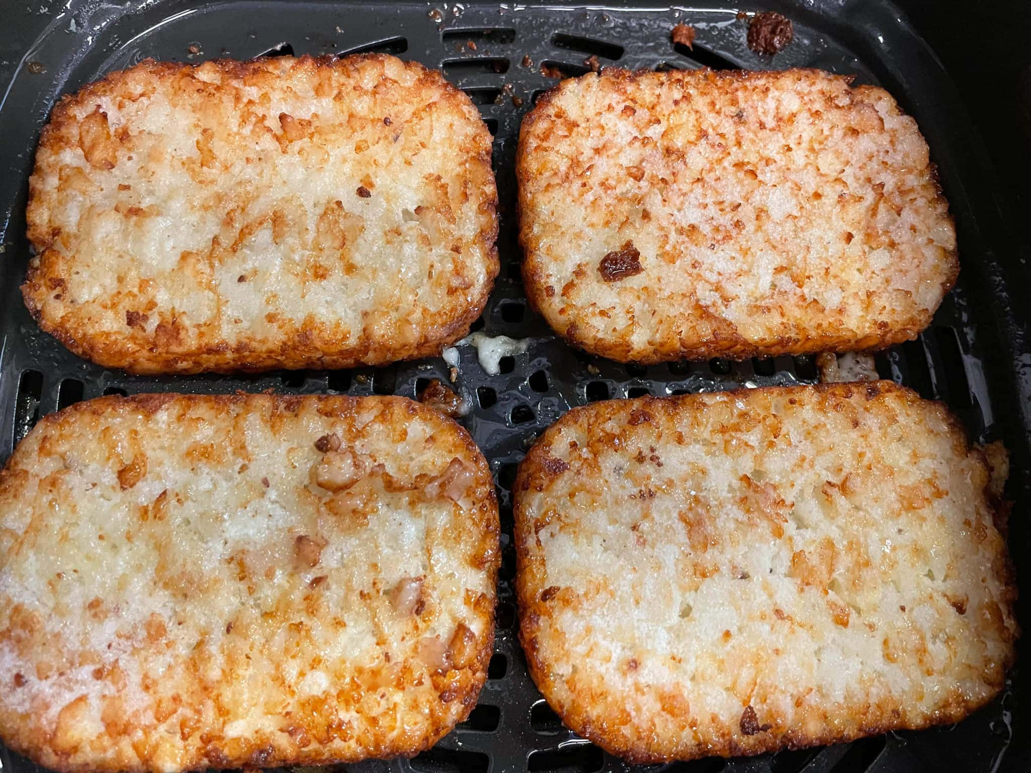 Air Fryer Hash Browns (From Frozen)