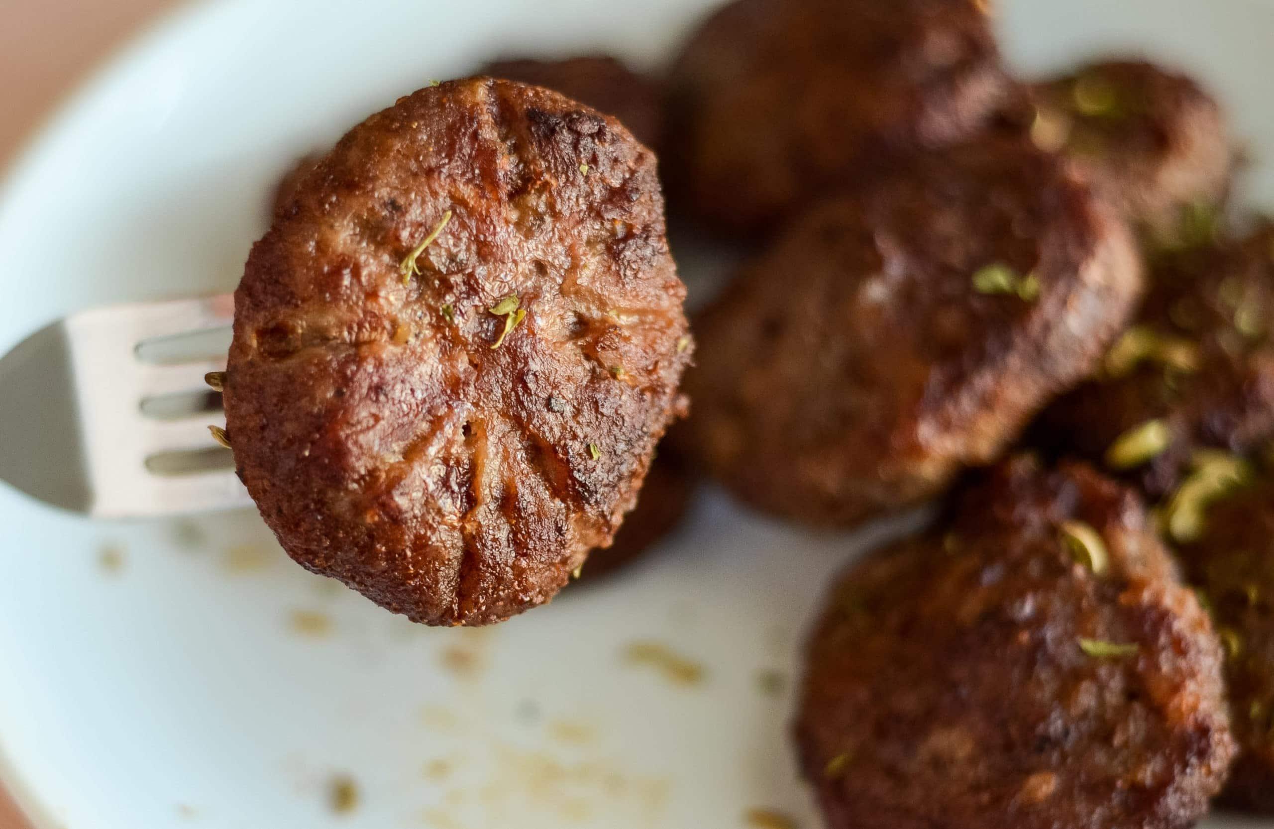 Air Fryer Sausage Patties in 8 Minutes!