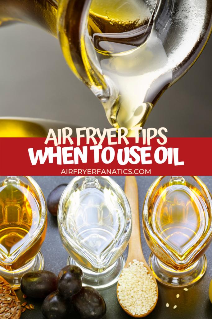 Oil Sprays that work for an Air Fryer