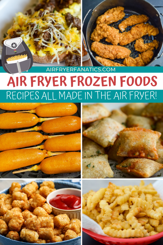 air fryer frozen foods