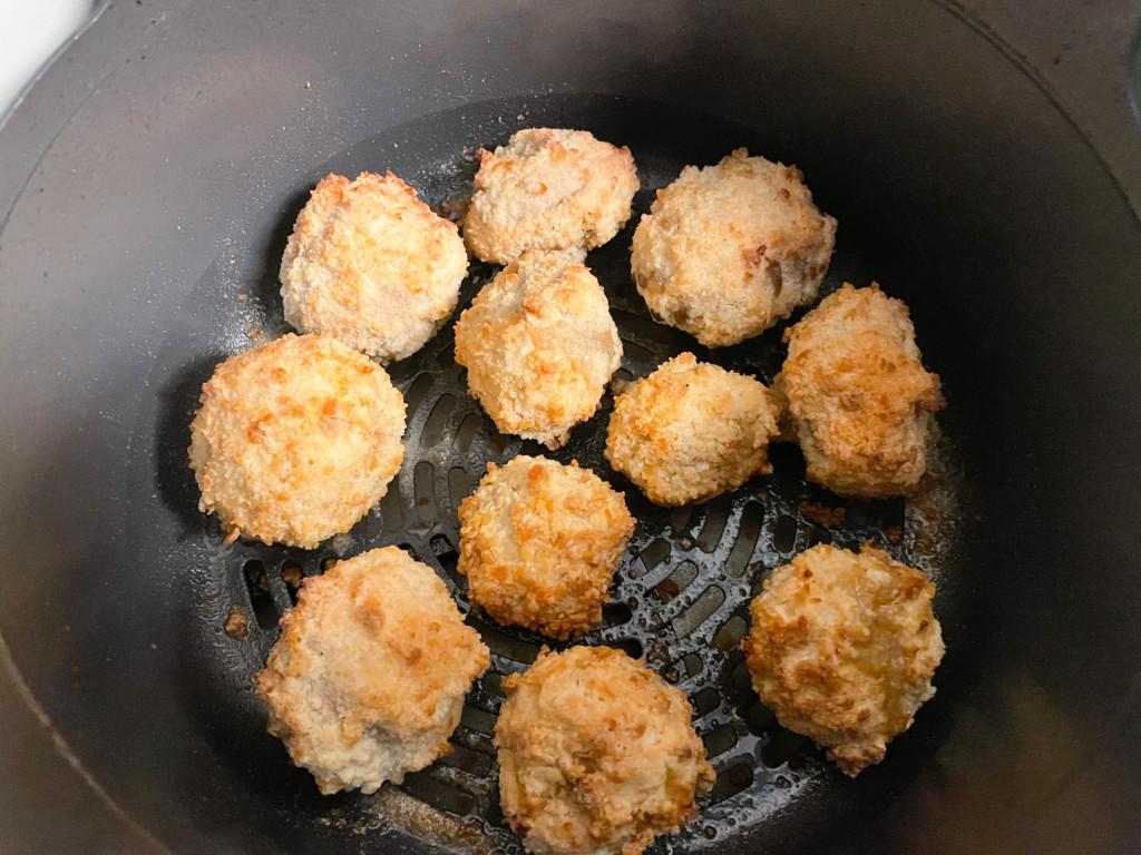 air fried mushrooms